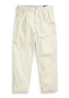 Ralph Lauren Pleated Baggy Corduroy Pant