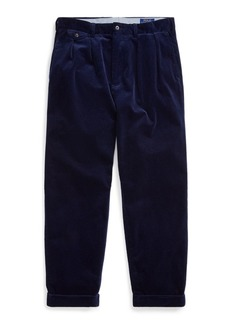 Ralph Lauren Pleated Baggy Corduroy Pant