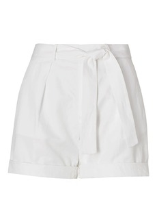 Pleated High-Rise Short