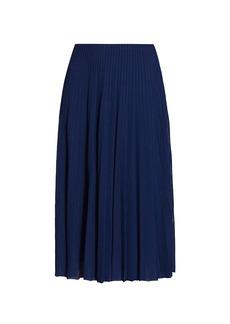 Ralph Lauren Pleated Sweater Skirt