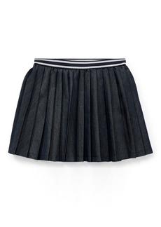 Ralph Lauren Pleated Twill Skirt