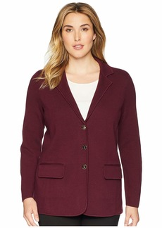 Ralph Lauren Plus Size Cotton Blazer