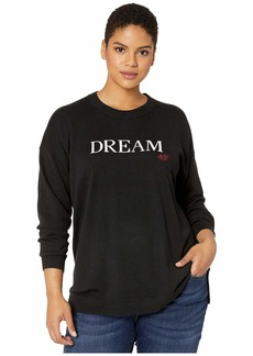 Ralph Lauren Plus Size Dream Knit Cotton-Blend Sweater