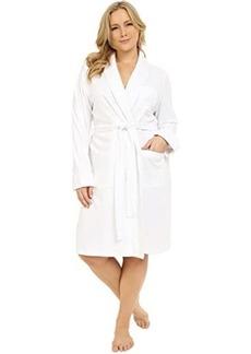 Ralph Lauren Plus Size Essentials Quilted Collar and Cuff Robe