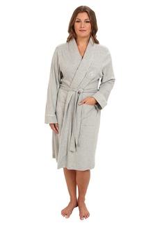 cda5edad956 Ralph Lauren Plus Size Essentials Quilted Collar and Cuff Robe