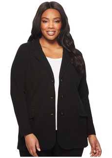 Ralph Lauren Plus Size Knit Sweater Blazer