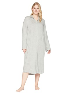 Ralph Lauren Plus Size Long Sleeve Roll Tab Ballet Sleepshirt