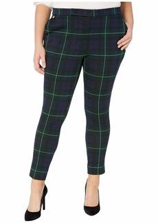 Ralph Lauren Plus Size Plaid Jacquard Pants