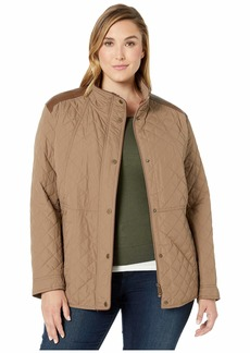 Ralph Lauren Plus Size Short Quilt Jacket