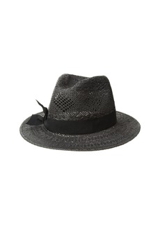 Ralph Lauren Pointelle Fedora with Bow Hat
