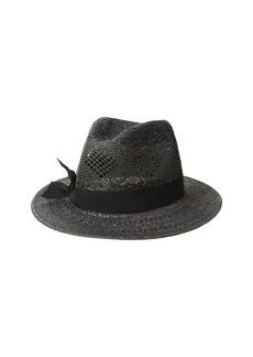 Ralph Lauren Pointelle Fedora with Bow Hat