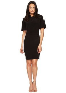 Ralph Lauren Poline Two-Tone Matte Jersey Dress