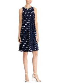 Ralph Lauren Polka-Dot Casual Dress