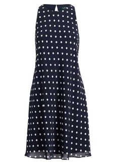 Ralph Lauren Polka-Dot Casual Dress