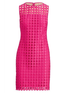 Ralph Lauren Polka-Dot Lace Dress