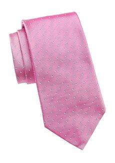Ralph Lauren Polka Dot Silk Tie