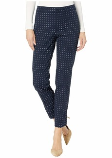 Ralph Lauren Polka Dot Stretch Twill Pants