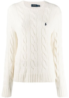 Ralph Lauren: Polo cable-knit sweatshirt