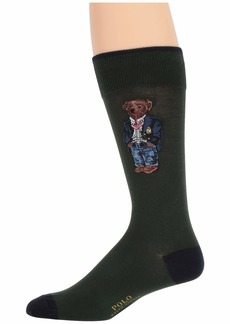 Ralph Lauren Polo 1-Pack Blazer Bear & Crest Socks