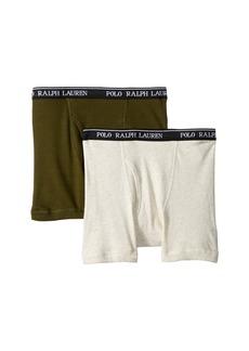 Ralph Lauren: Polo 2-Pack Boxer Briefs (Little Kids/Big Kids)