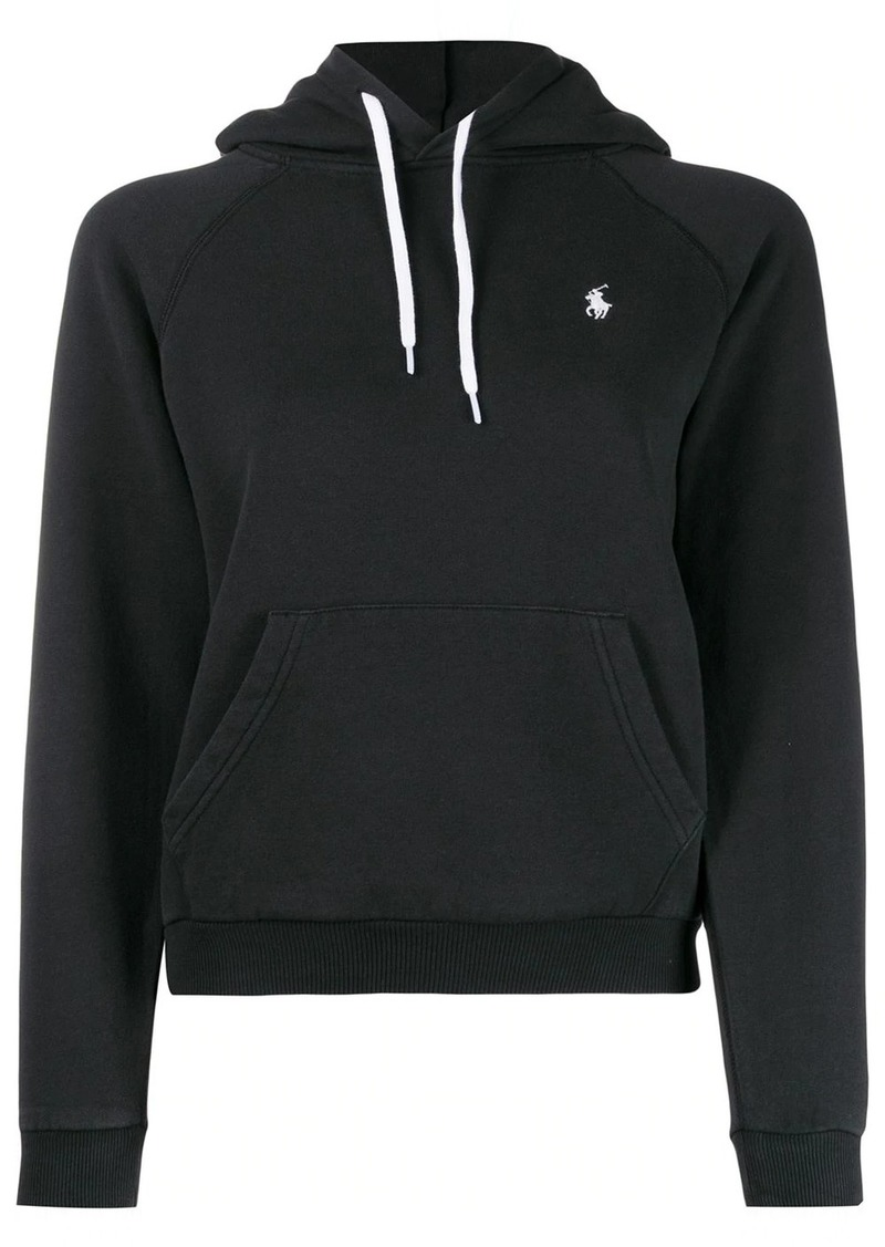 Ralph Lauren: Polo embroidered logo relaxed-fit hoodie