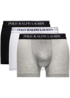 Ralph Lauren Polo 3-pack logo waistband boxer briefs