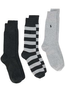Ralph Lauren Polo 3 pack socks