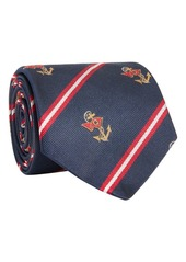 Ralph Lauren Polo Anchor Club Silk Tie