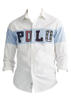 Ralph Lauren Polo Appliqué Logo Oxford Shirt