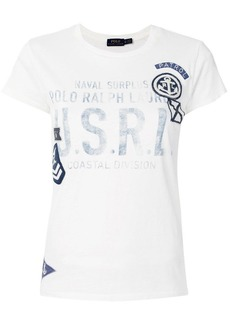 Ralph Lauren: Polo applique detail T-shirt