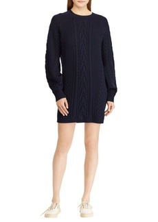 Ralph Lauren: Polo Aran Wool Sweater Dress