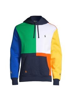 Ralph Lauren Polo Athletic Fleece Colorblock Hoodie