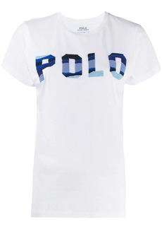 Ralph Lauren: Polo beaded logo cotton T-shirt