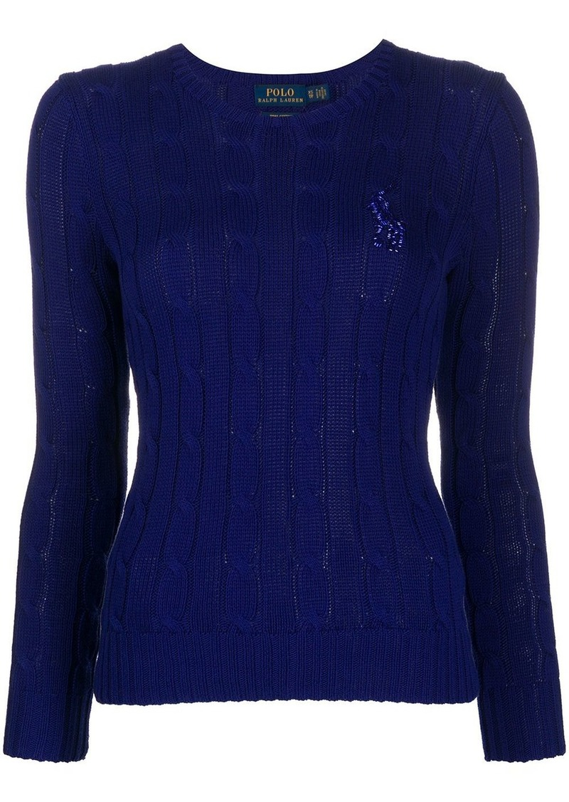 Ralph Lauren: Polo beaded logo pullover