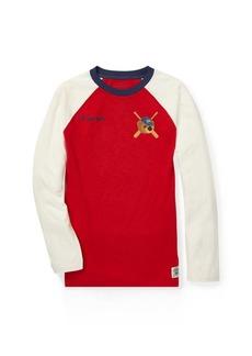Ralph Lauren Polo Bear Baseball T-Shirt