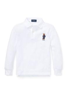 Ralph Lauren Polo Bear Cotton Mesh Polo