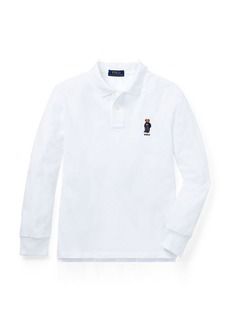 Ralph Lauren Polo Bear Cotton Mesh Polo