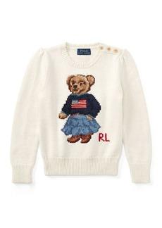 Ralph Lauren Polo Bear Cotton Sweater