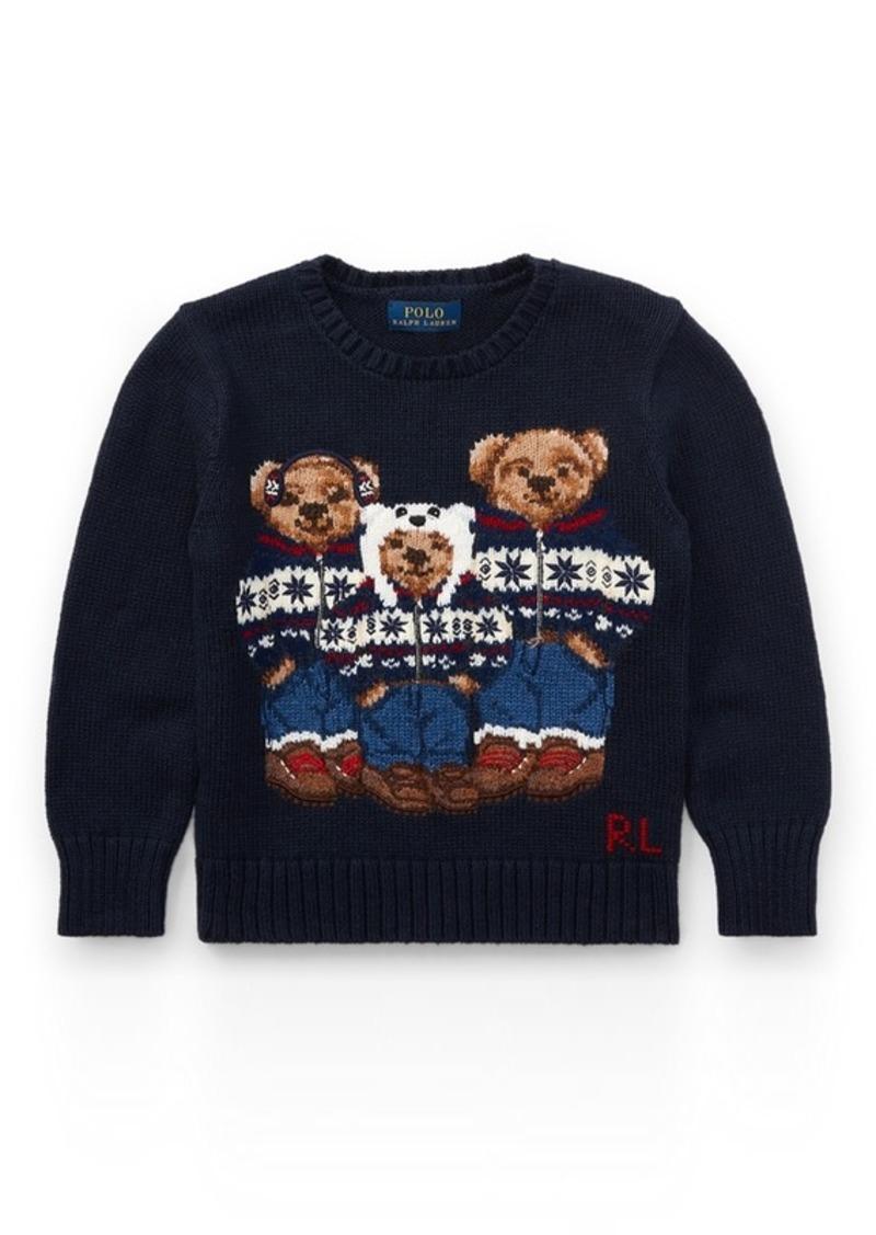 9040ca0c71d5 Ralph Lauren Polo Bear Cotton Sweater