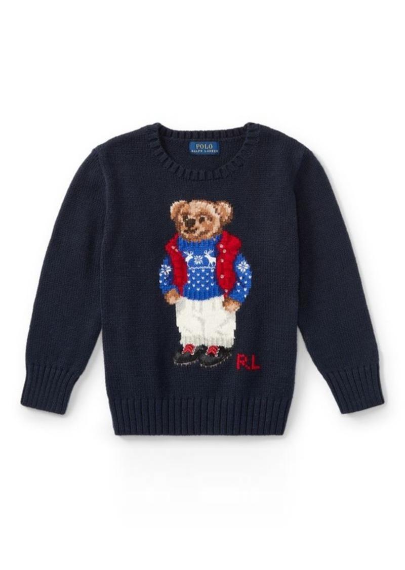 397985d7232d SALE! Ralph Lauren Polo Bear Cotton Sweater