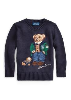 Ralph Lauren Polo Bear Cotton-Wool Sweater