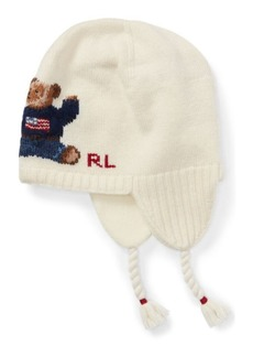 Ralph Lauren Polo Bear Earflap Hat