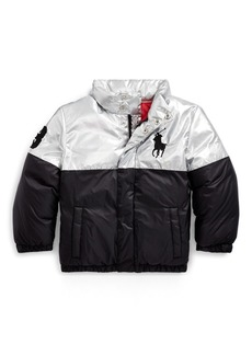 Ralph Lauren Polo Bear Foil Down Jacket