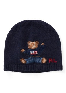 Ralph Lauren Polo Bear Merino Wool Hat