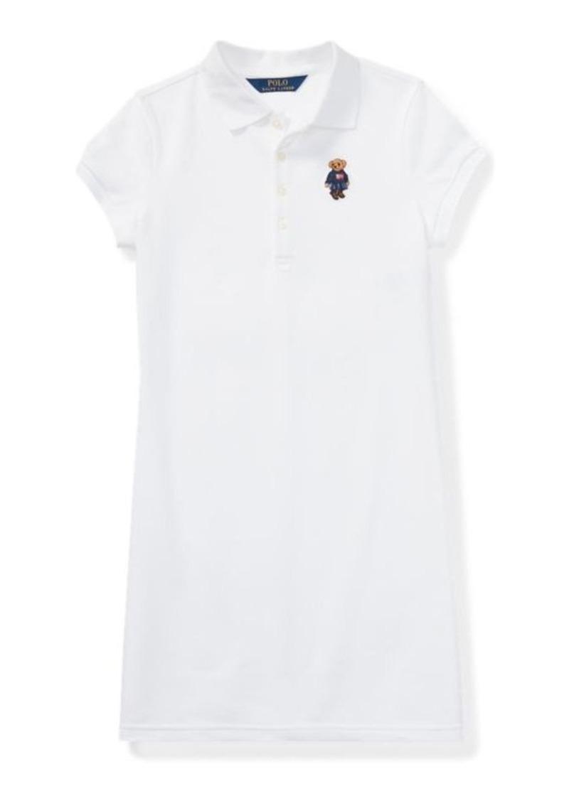 Ralph Lauren Polo Bear Mesh Polo Dress