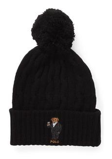 Ralph Lauren Polo Bear Pom-Pom Hat