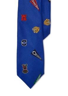 Ralph Lauren Patterned Silk Club Tie