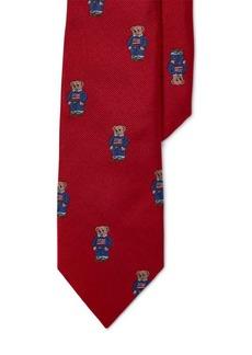 Ralph Lauren Polo Bear Silk Twill Tie