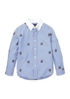 Ralph Lauren Polo Bear Stretch Cotton Shirt