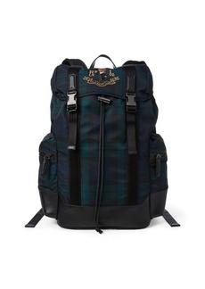 Ralph Lauren Polo Bear Tartan Backpack